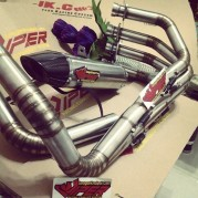 Fullsystem and Slip On for Undertail CBR600RR