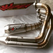 BlackViper Fullsystem for Suzuki Bandit 400