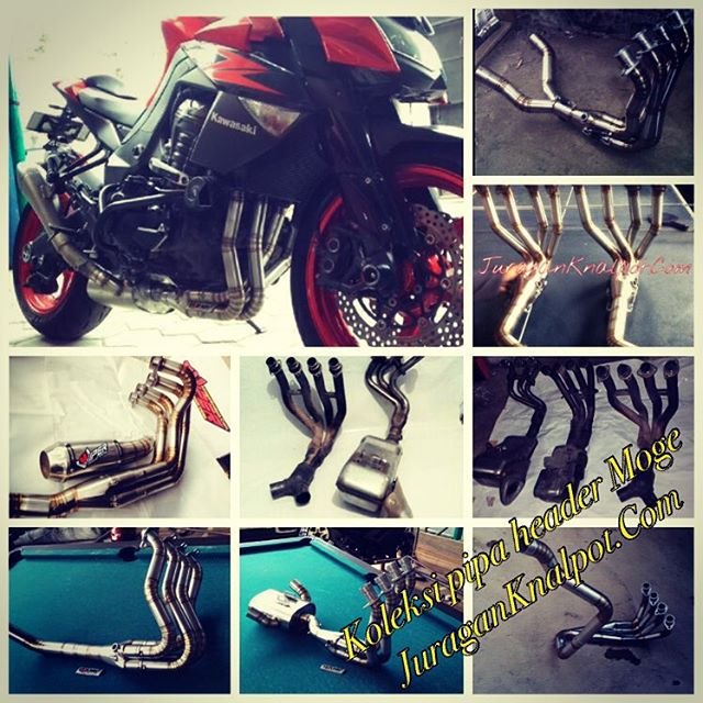 Available Exhaust Fullsystem, Downpipes, SlipOn/Midpipes for Motorcycle big cc @ knalpotharley.com